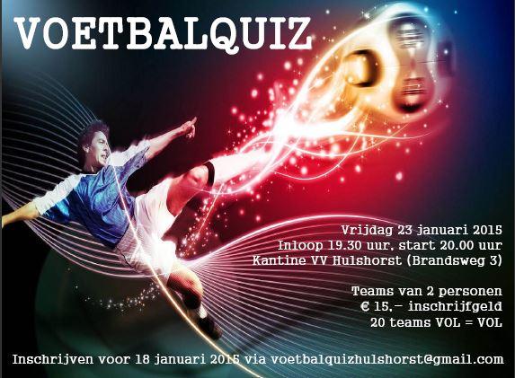 Poster Voetbalquiz VV Hulshorst 230115