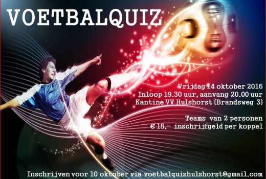 Voetbalquiz Hulshorst 2e editie 141016